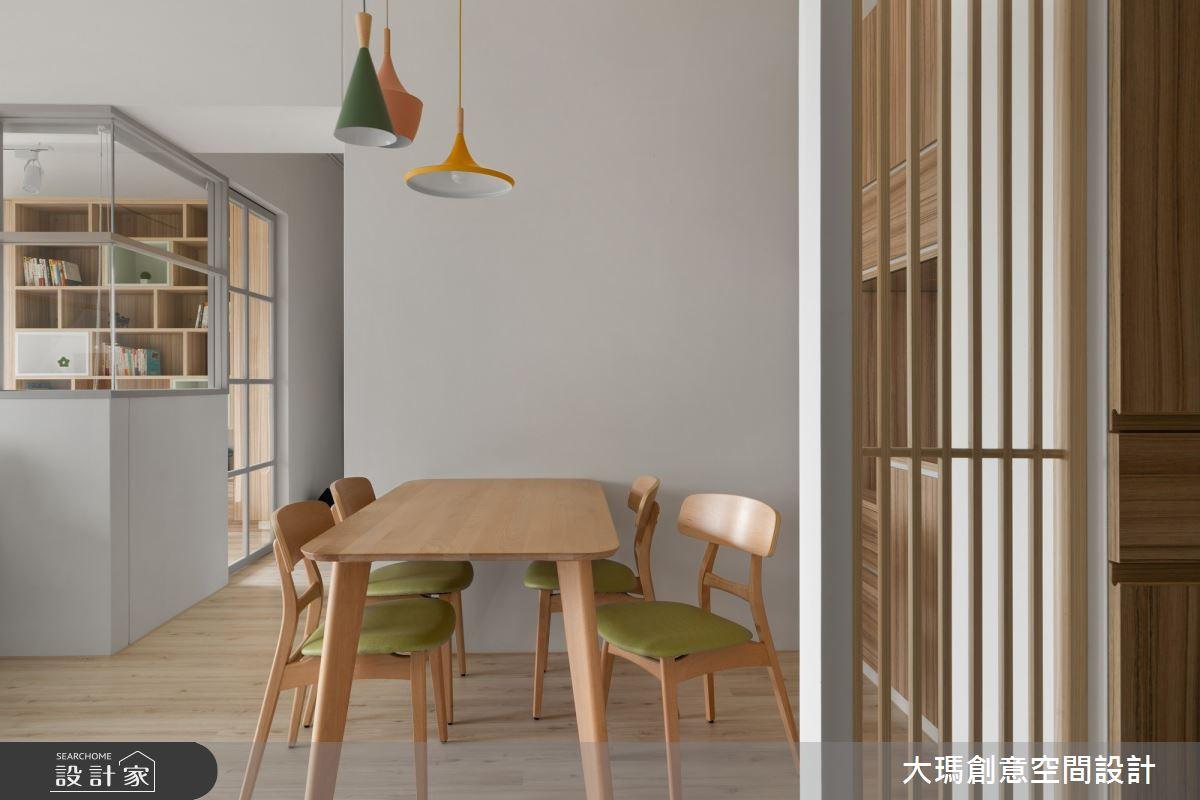20坪新成屋(5年以下)_北歐風餐廳案例圖片_大瑪創意空間設計有限公司_大瑪_14之15