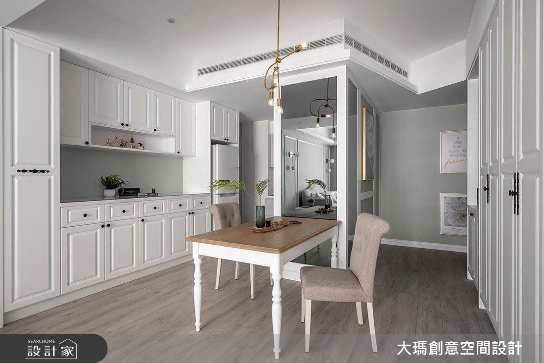 32坪新成屋(5年以下)_新古典餐廳案例圖片_大瑪創意空間設計有限公司_大瑪_15之3