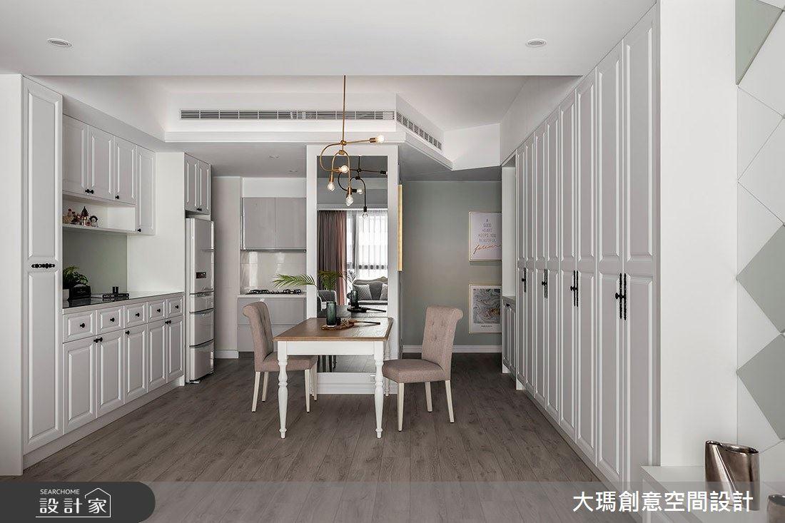 32坪新成屋(5年以下)_新古典餐廳案例圖片_大瑪創意空間設計有限公司_大瑪_15之4