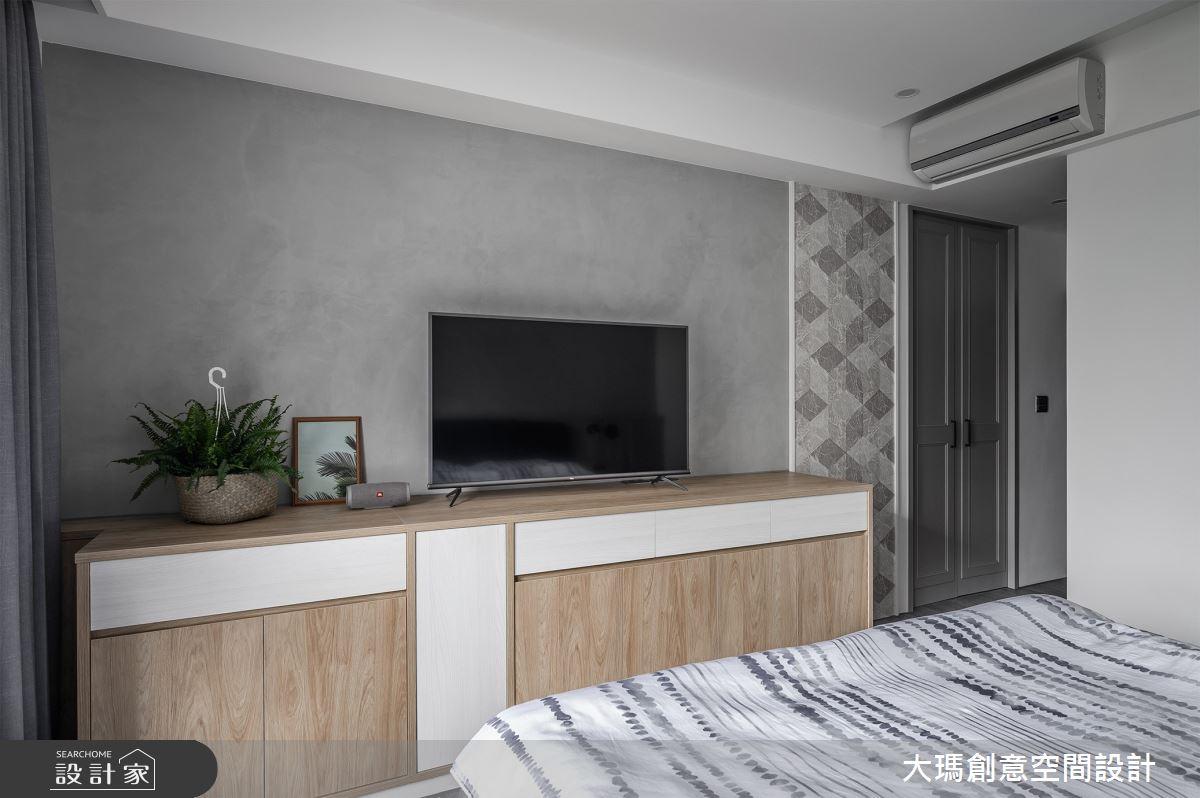 36坪中古屋(5~15年)_現代風臥室案例圖片_大瑪創意空間設計有限公司_大瑪_17之11