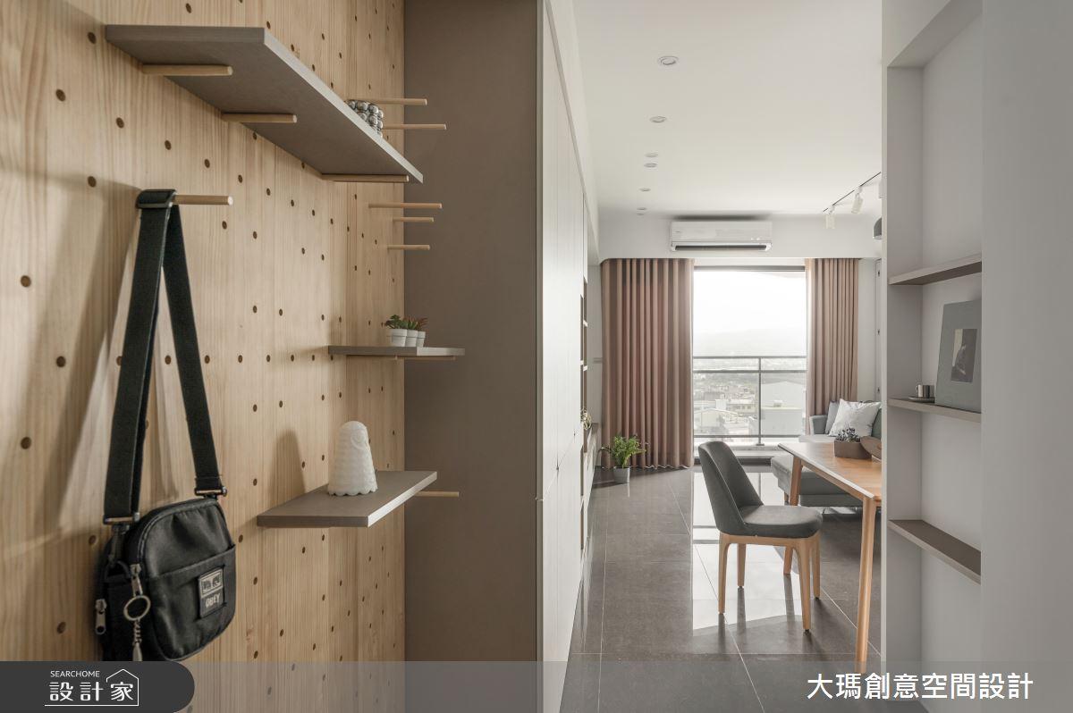 22坪新成屋(5年以下)_北歐風玄關案例圖片_大瑪創意空間設計有限公司_大瑪_18之2