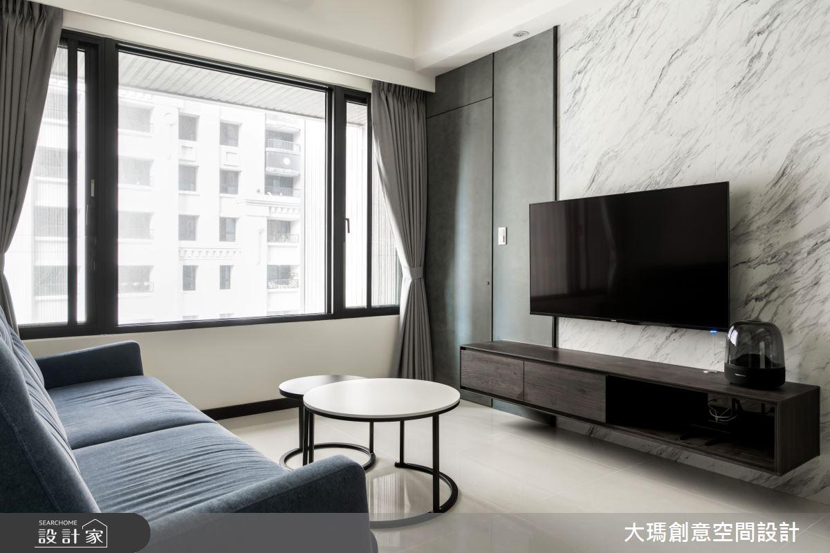 19坪新成屋(5年以下)_現代風客廳案例圖片_大瑪創意空間設計有限公司_大瑪_21之3