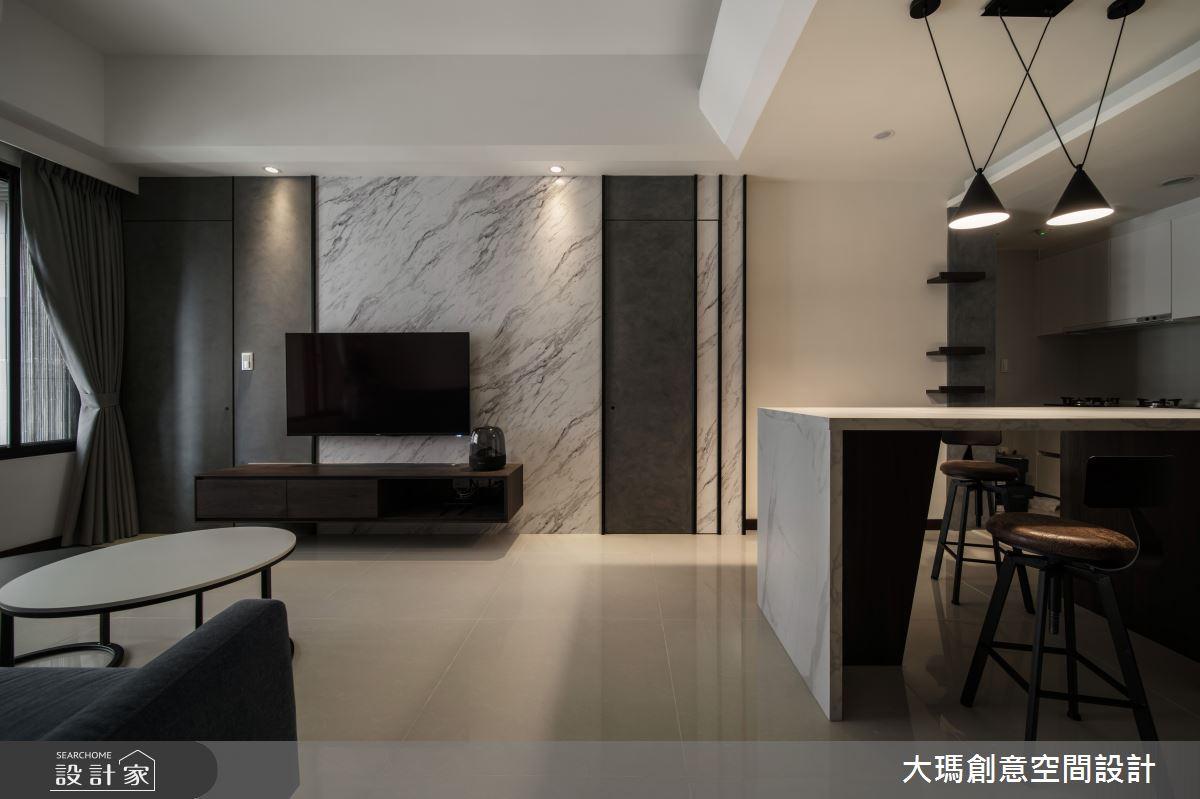 19坪新成屋(5年以下)_現代風客廳餐廳案例圖片_大瑪創意空間設計有限公司_大瑪_21之2