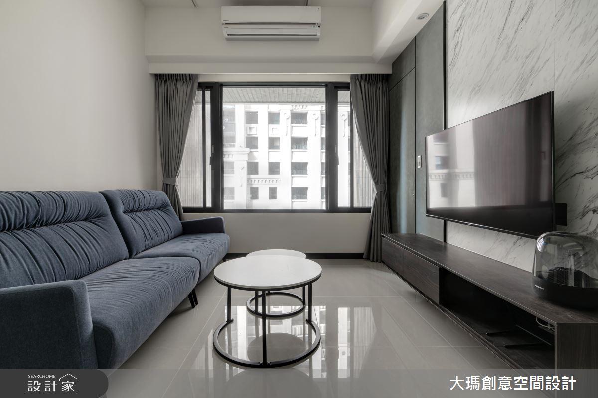 19坪新成屋(5年以下)_現代風客廳案例圖片_大瑪創意空間設計有限公司_大瑪_21之4