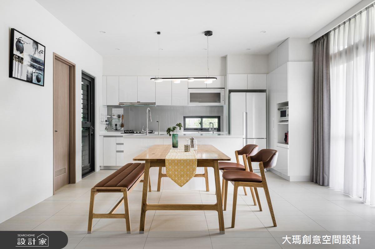 52坪新成屋(5年以下)_混搭風餐廳案例圖片_大瑪創意空間設計有限公司_大瑪_22之2