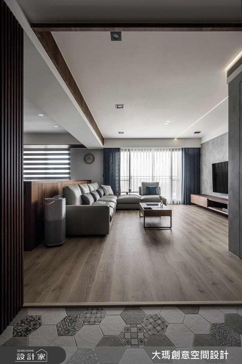 42坪新成屋(5年以下)_現代風玄關案例圖片_大瑪創意空間設計有限公司_大瑪_23之2