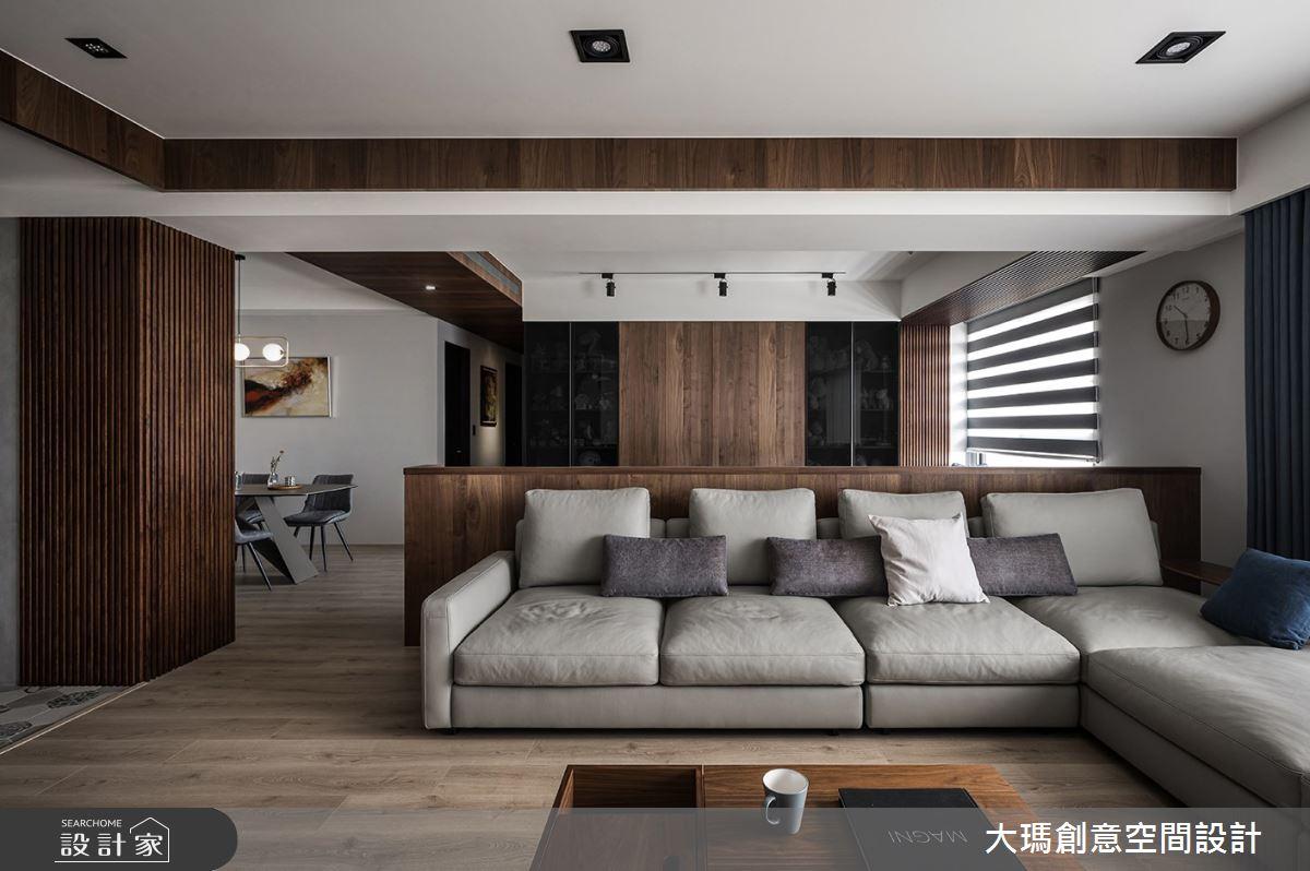 42坪新成屋(5年以下)_現代風客廳案例圖片_大瑪創意空間設計有限公司_大瑪_23之4