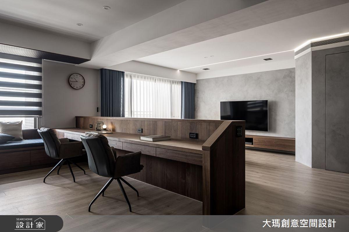 42坪新成屋(5年以下)_現代風書房案例圖片_大瑪創意空間設計有限公司_大瑪_23之6