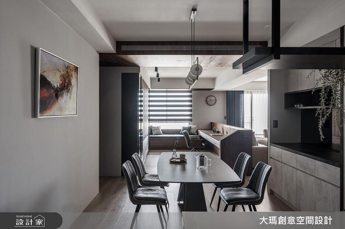 42坪新成屋(5年以下)_現代風餐廳案例圖片_大瑪創意空間設計有限公司_大瑪_23之7