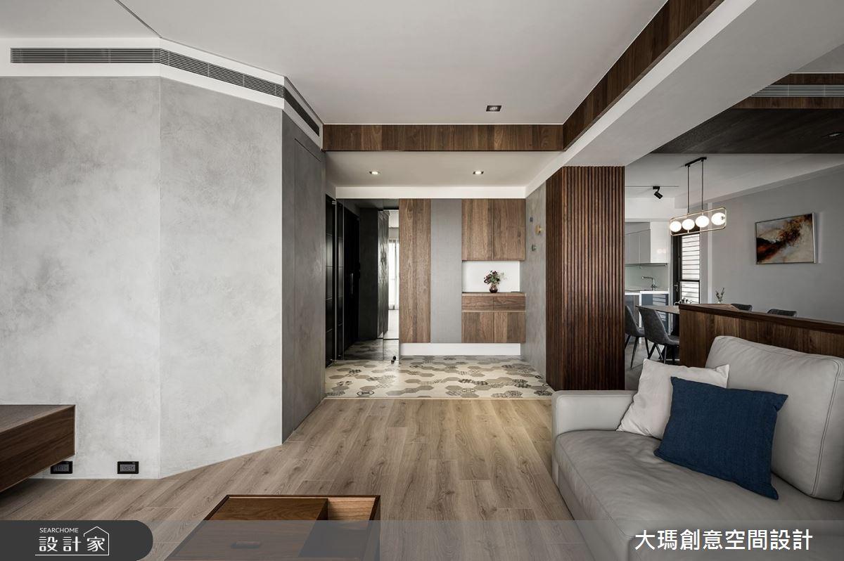 42坪新成屋(5年以下)_現代風客廳案例圖片_大瑪創意空間設計有限公司_大瑪_23之8