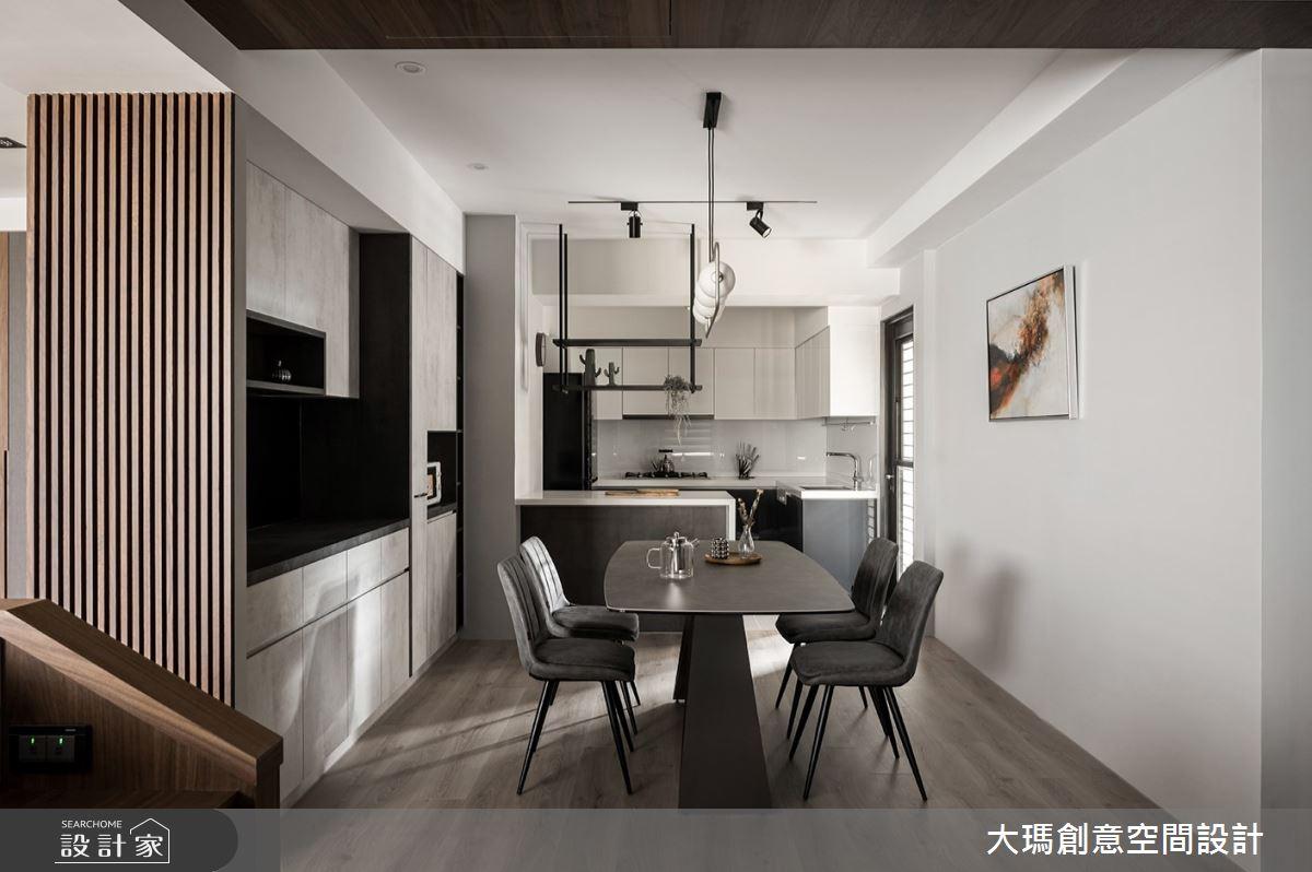 42坪新成屋(5年以下)_現代風餐廳案例圖片_大瑪創意空間設計有限公司_大瑪_23之9