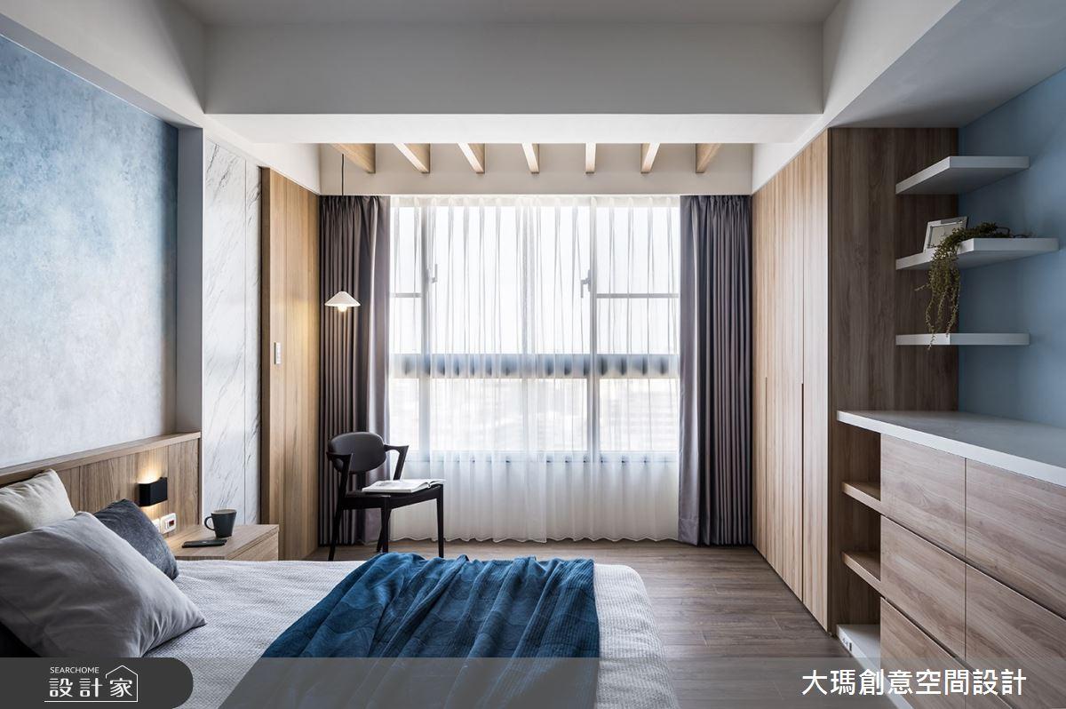 42坪新成屋(5年以下)_現代風臥室案例圖片_大瑪創意空間設計有限公司_大瑪_23之12