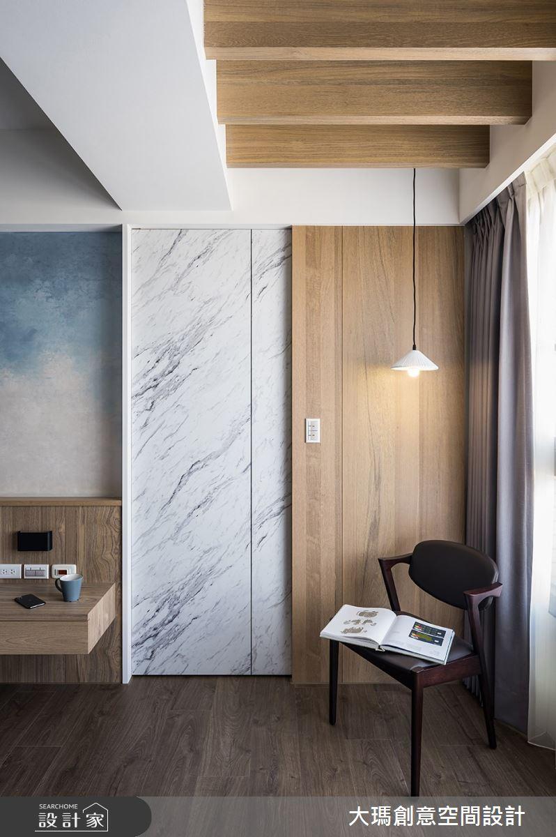 42坪新成屋(5年以下)_現代風臥室案例圖片_大瑪創意空間設計有限公司_大瑪_23之13