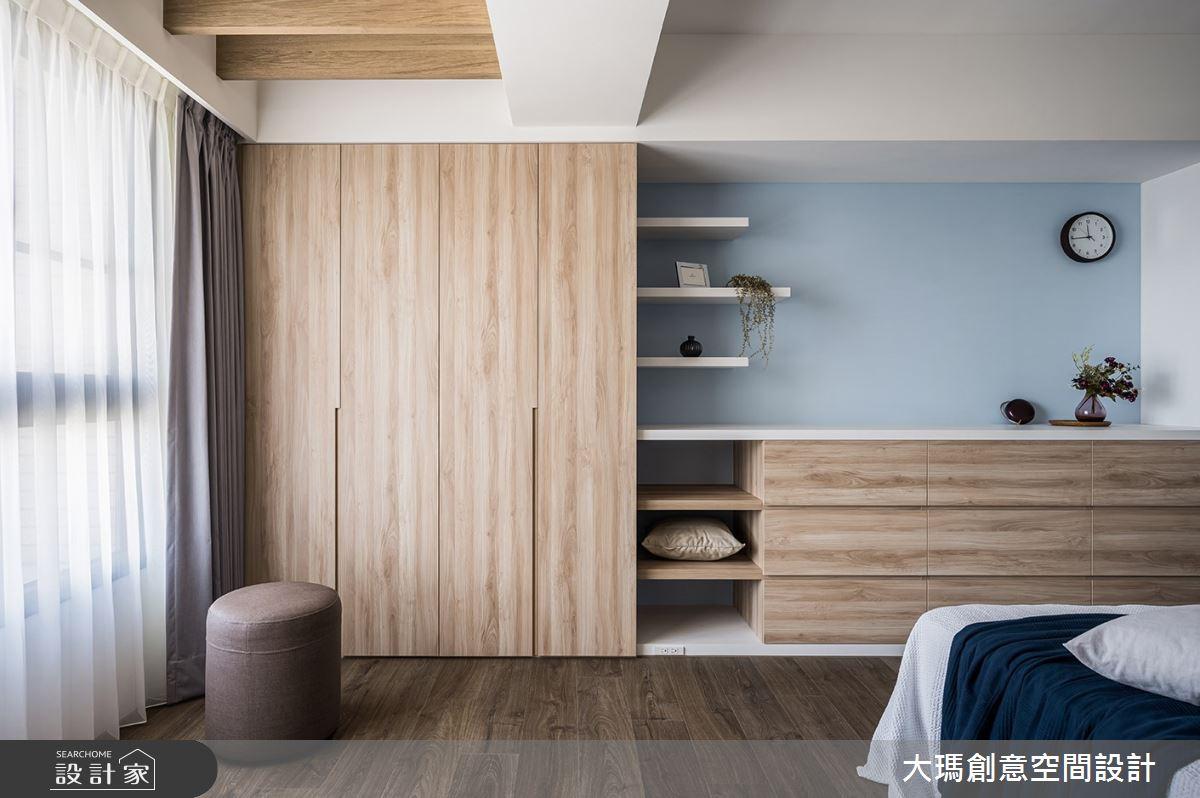 42坪新成屋(5年以下)_現代風臥室案例圖片_大瑪創意空間設計有限公司_大瑪_23之14