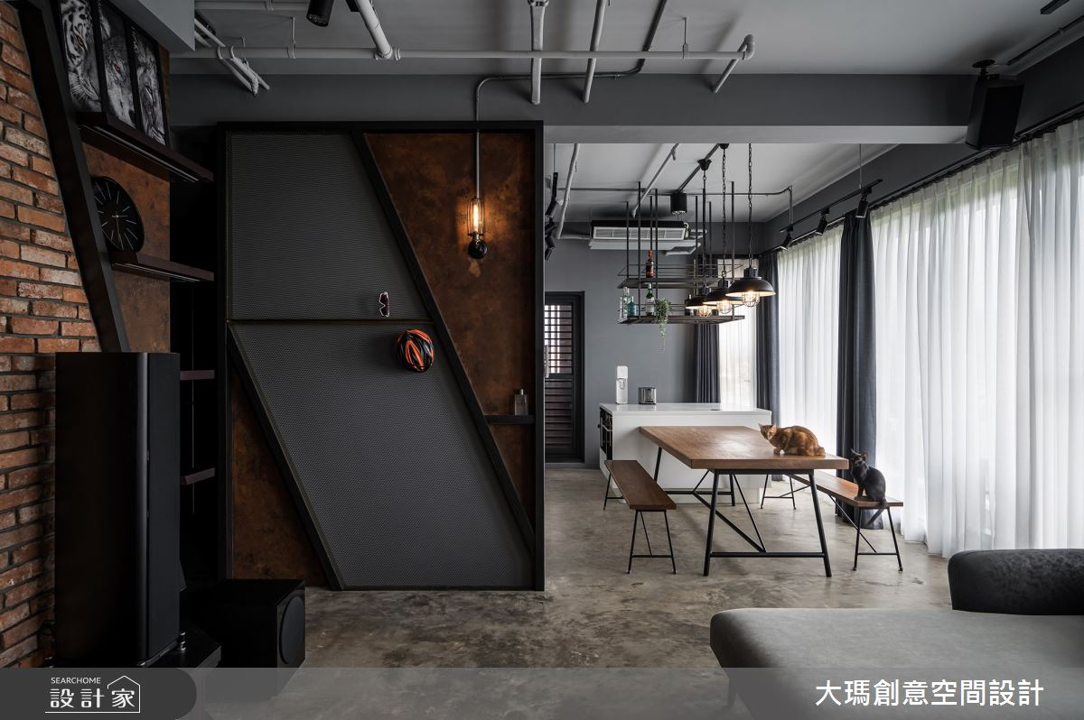35坪新成屋(5年以下)_工業風案例圖片_大瑪創意空間設計有限公司_大瑪_26之3