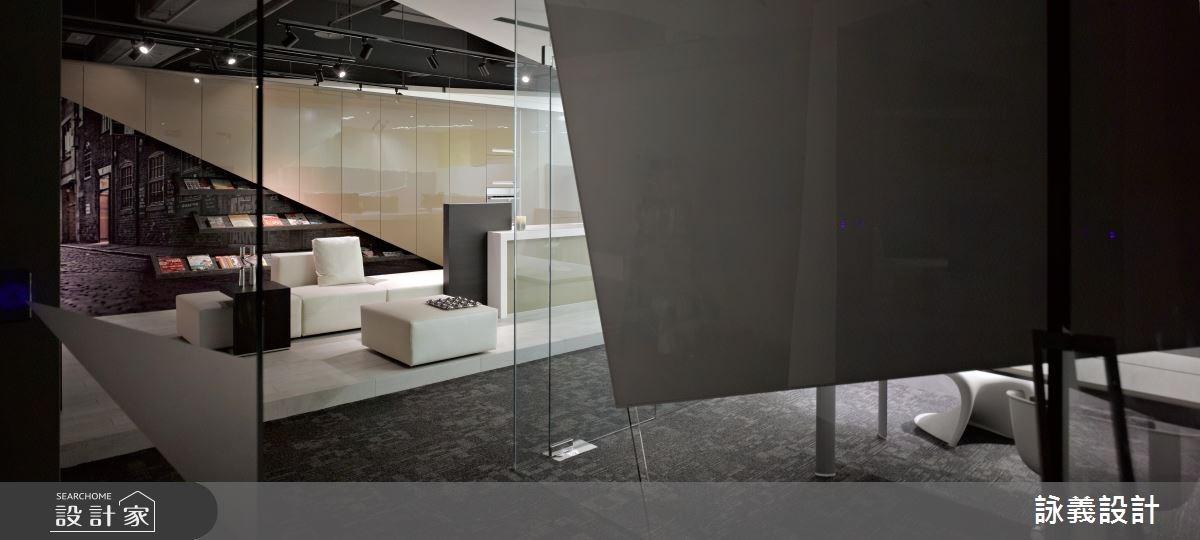 85坪_現代風商業空間案例圖片_詠義設計/劉榮祿國際空間設計_詠義_恆橋國際辦公室之2