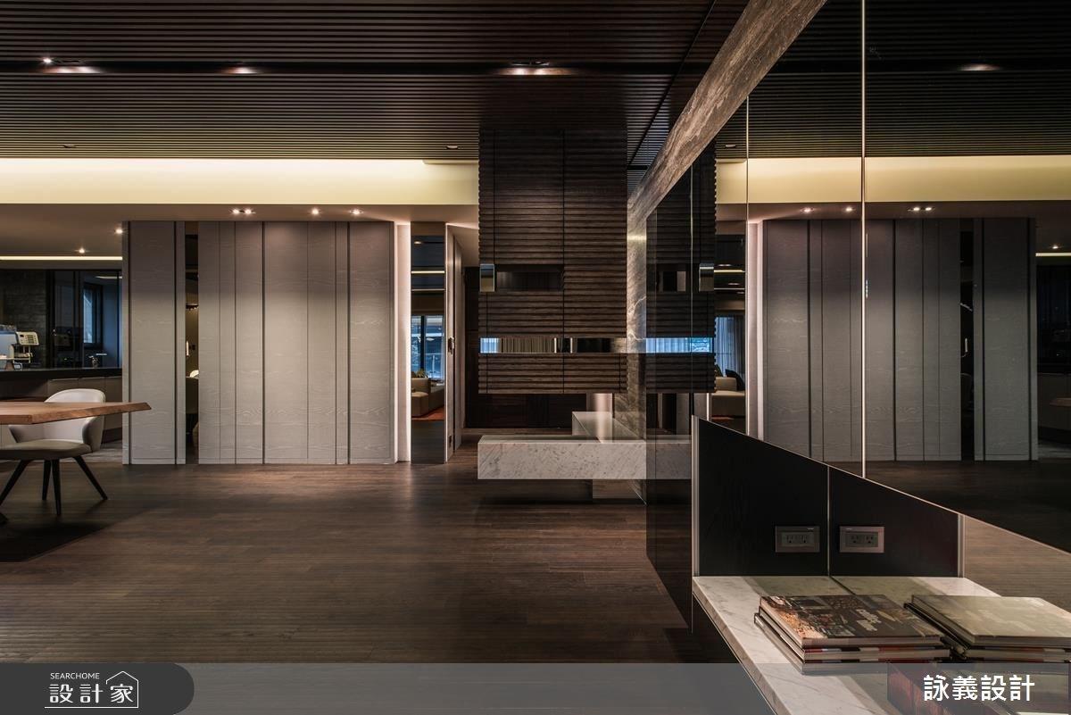 94坪新成屋(5年以下)_現代風客廳案例圖片_詠義設計/劉榮祿國際空間設計_詠義_幾何的深度之1