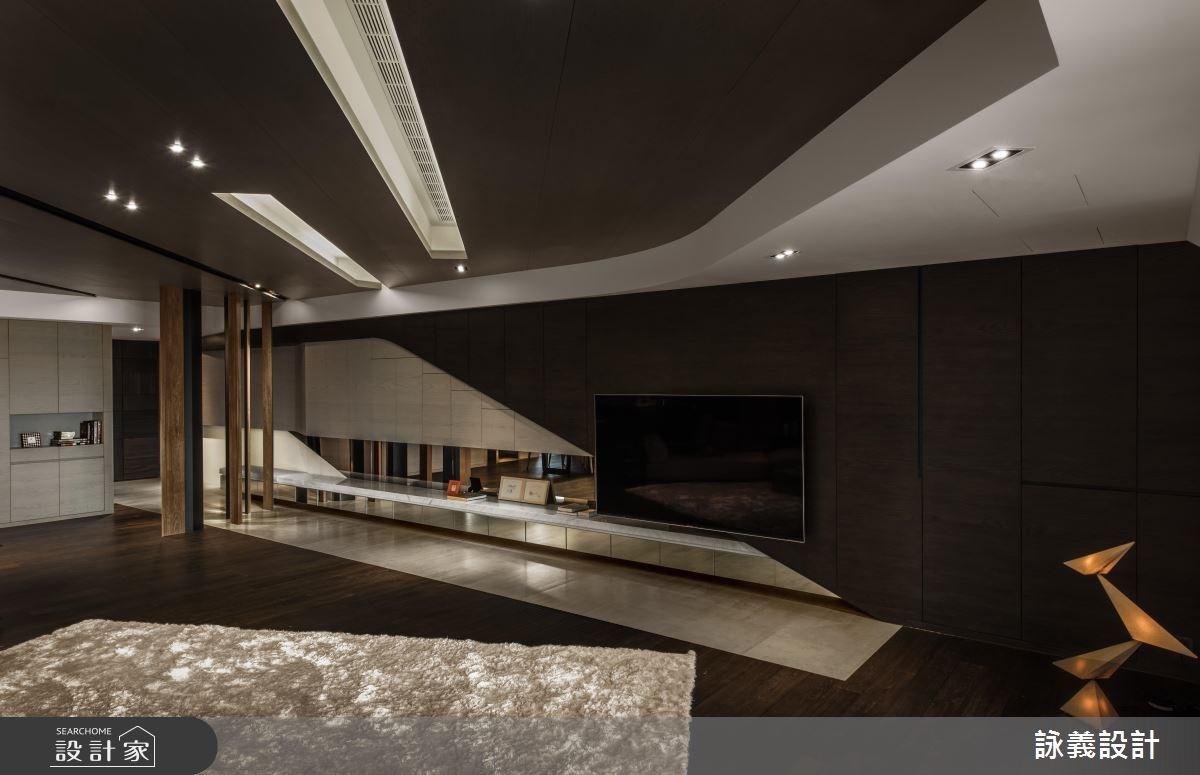94坪新成屋(5年以下)_現代風客廳案例圖片_詠義設計/劉榮祿國際空間設計_詠義_幾何的淬煉之7