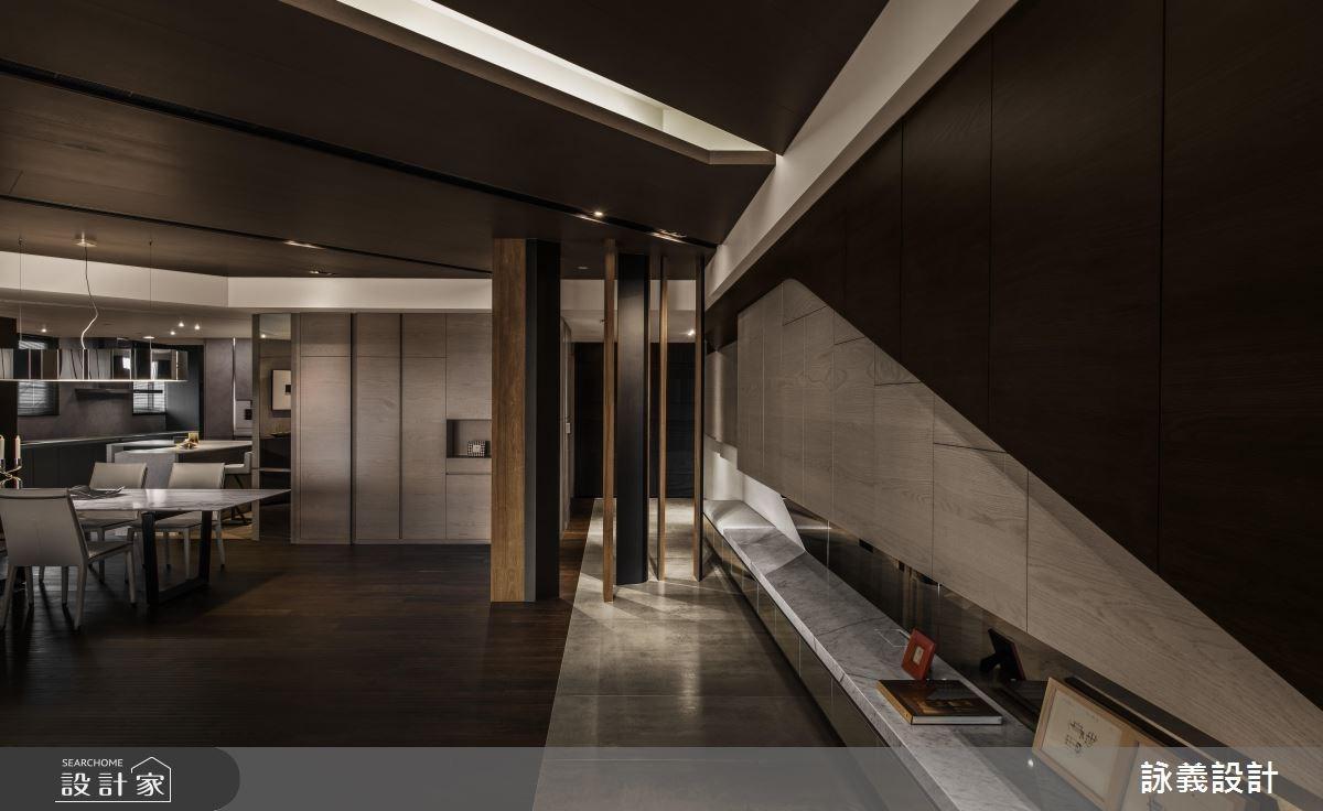 94坪新成屋(5年以下)_現代風客廳案例圖片_詠義設計/劉榮祿國際空間設計_詠義_幾何的淬煉之8