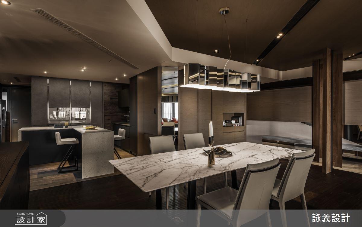 94坪新成屋(5年以下)_現代風餐廳案例圖片_詠義設計/劉榮祿國際空間設計_詠義_幾何的淬煉之9