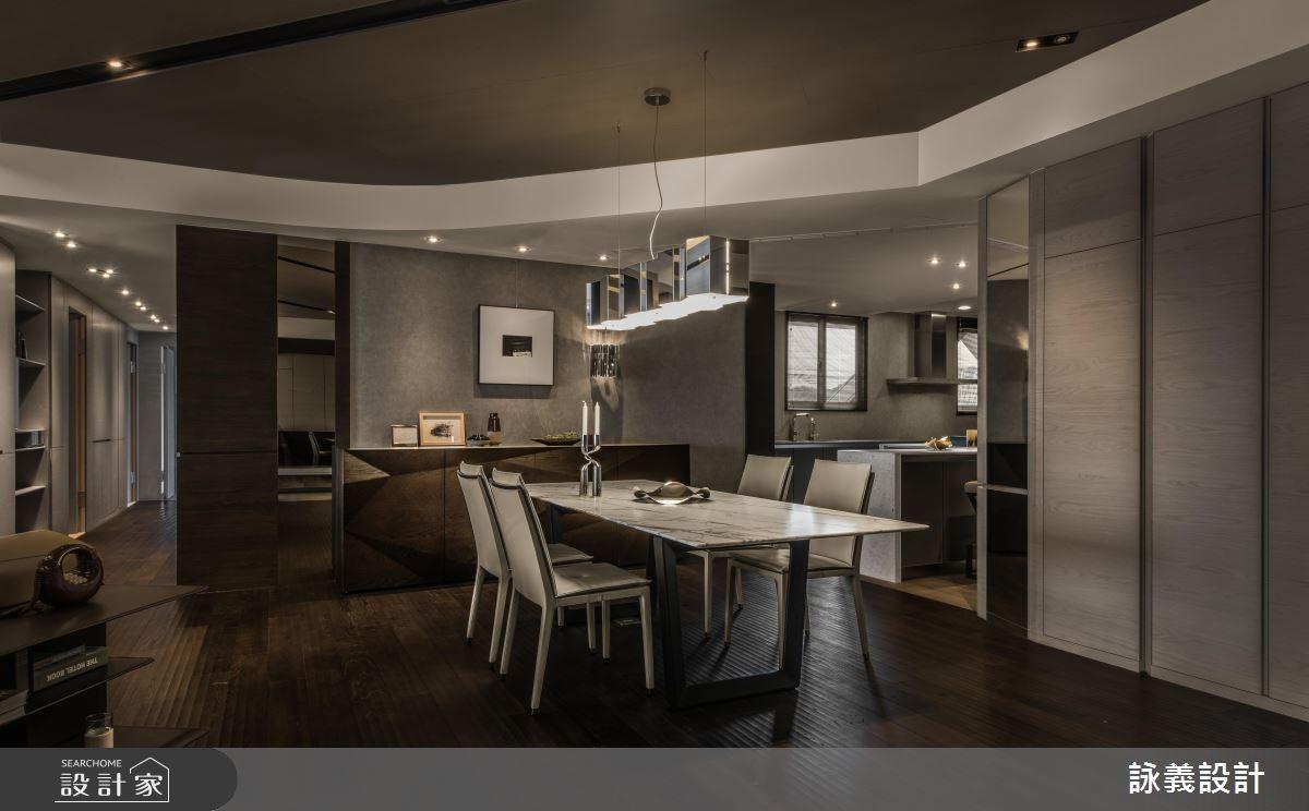 94坪新成屋(5年以下)_現代風餐廳案例圖片_詠義設計/劉榮祿國際空間設計_詠義_幾何的淬煉之10