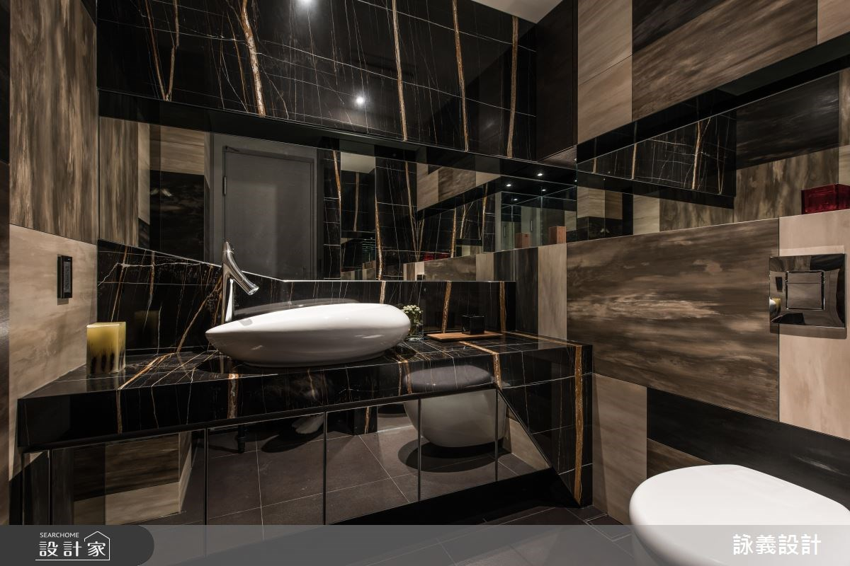 94坪新成屋(5年以下)_現代風浴室案例圖片_詠義設計/劉榮祿國際空間設計_詠義_幾何的淬煉之13