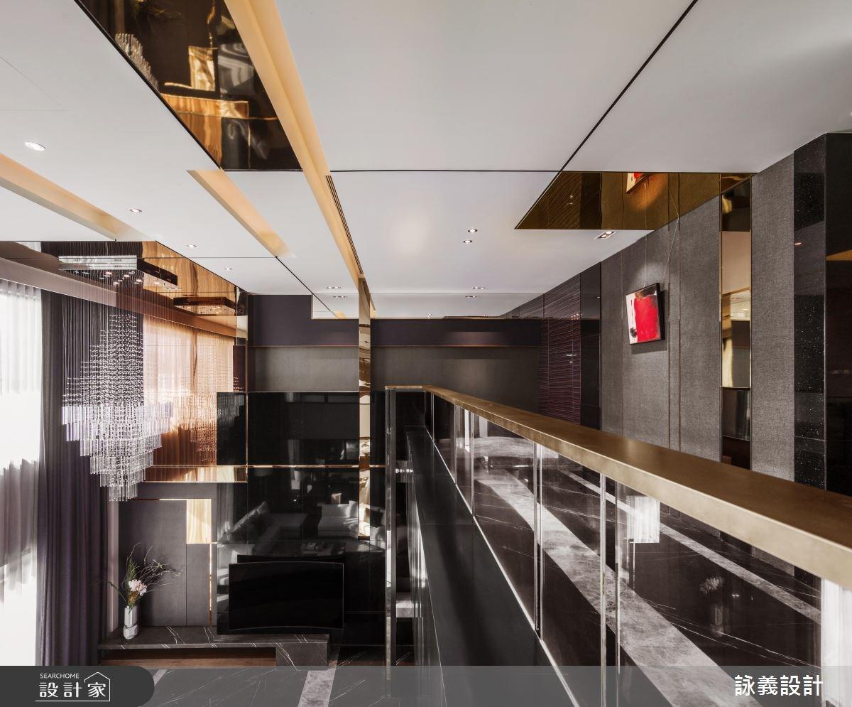 166坪預售屋_現代風閣樓案例圖片_詠義設計/劉榮祿國際空間設計_詠義_華麗與抽象的演繹之1