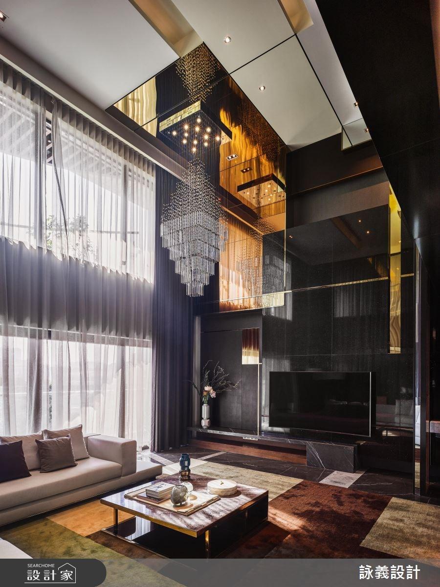 166坪預售屋_現代風客廳案例圖片_詠義設計/劉榮祿國際空間設計_詠義_華麗與抽象的演繹之3