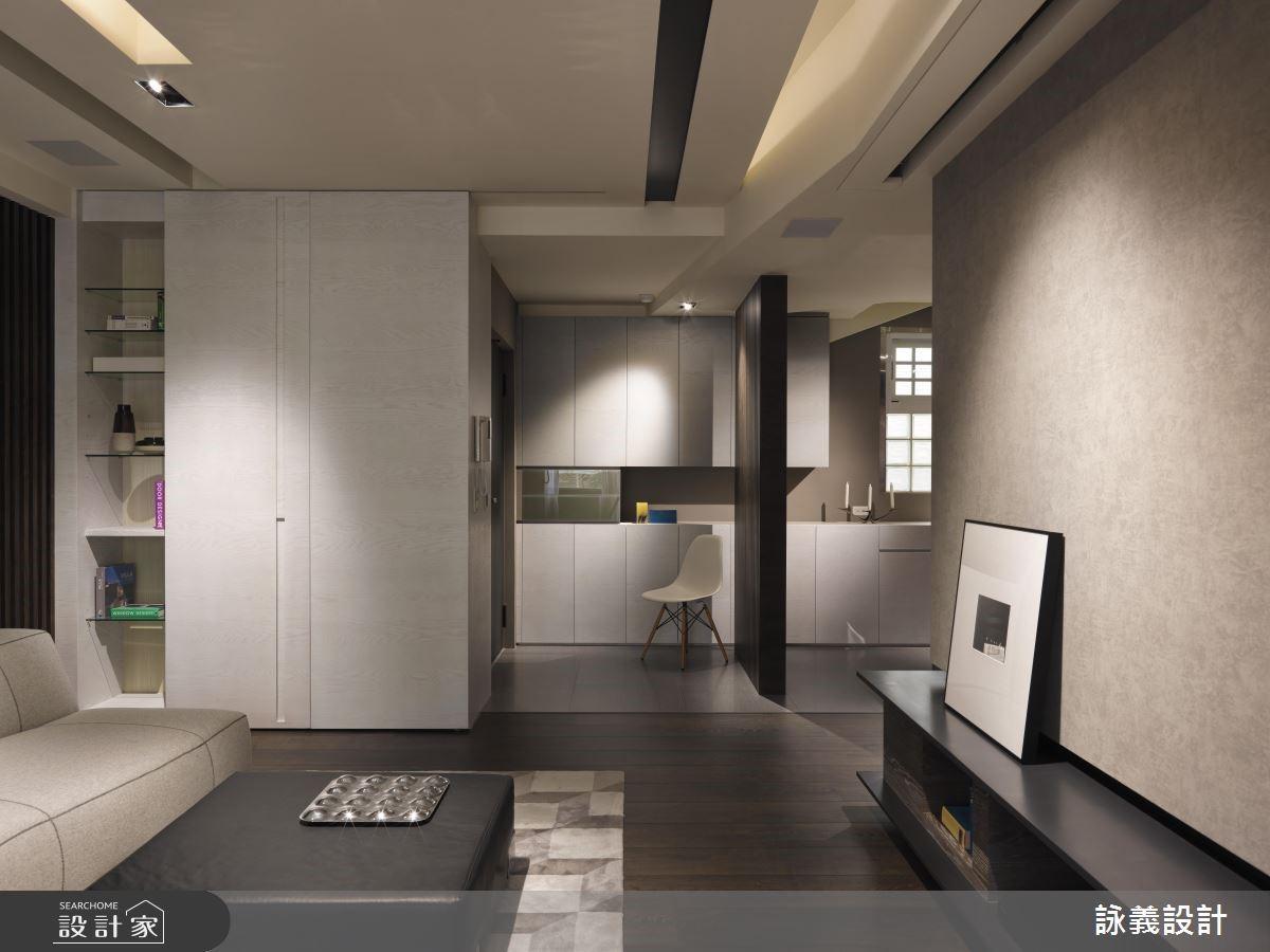 新成屋(5年以下)_現代風客廳案例圖片_詠義設計/劉榮祿國際空間設計_詠義_寧靜之4