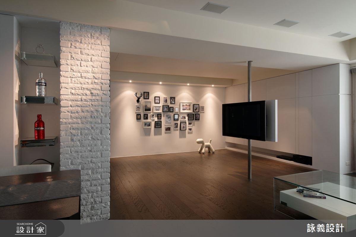 45坪老屋(16~30年)_簡約風多功能室案例圖片_詠義設計/劉榮祿國際空間設計_詠義_生活的美術館之3
