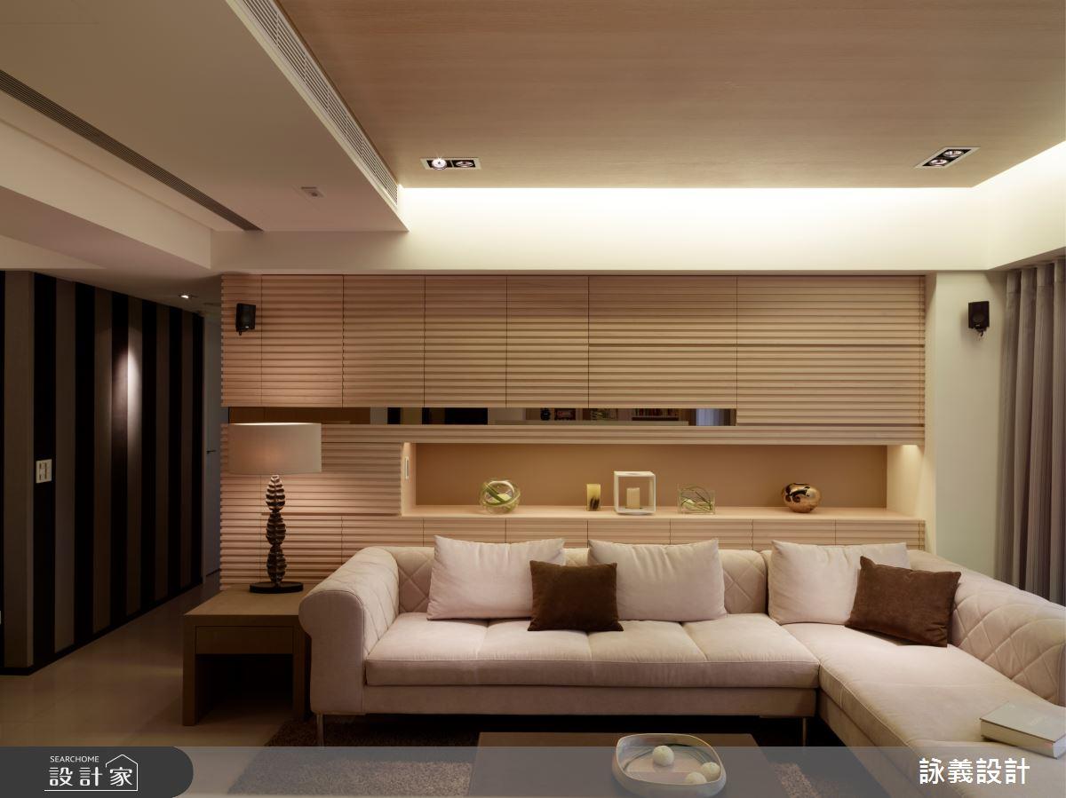 36坪新成屋(5年以下)_簡約風客廳案例圖片_詠義設計/劉榮祿國際空間設計_詠義_Home之3
