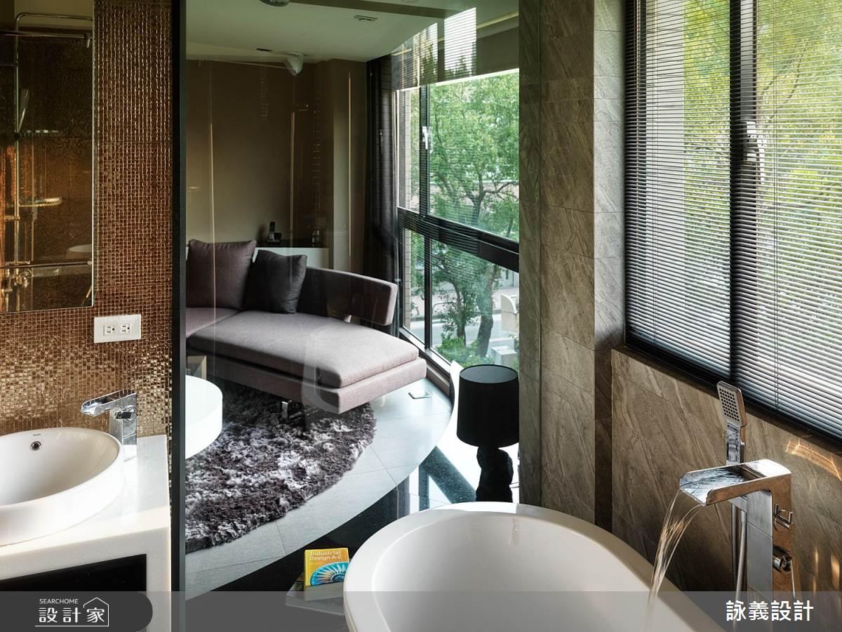 33坪中古屋(5~15年)_現代風浴室案例圖片_詠義設計/劉榮祿國際空間設計_詠義_流動的綠意之7