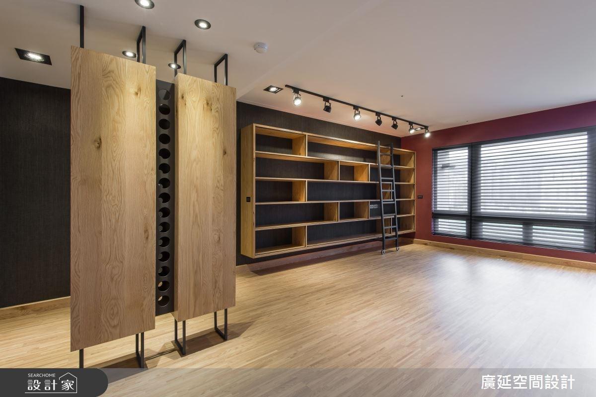 28坪新成屋(5年以下)_混搭風客廳案例圖片_廣延空間設計_廣延_04之3