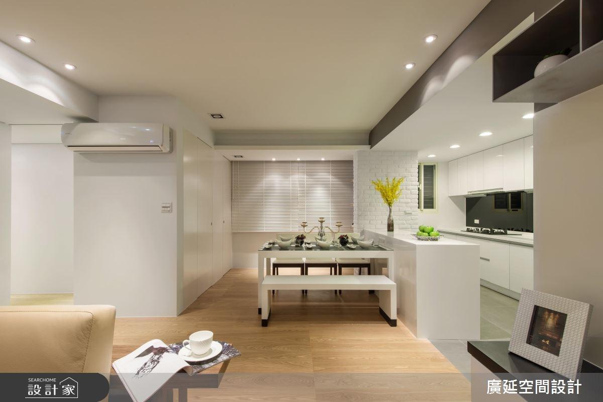 35坪老屋(16~30年)_現代風餐廳案例圖片_廣延空間設計_廣延_06之12