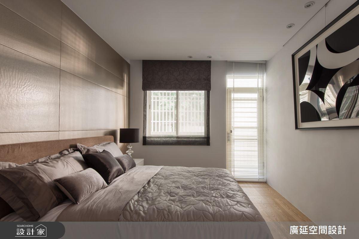 35坪老屋(16~30年)_現代風臥室案例圖片_廣延空間設計_廣延_06之18