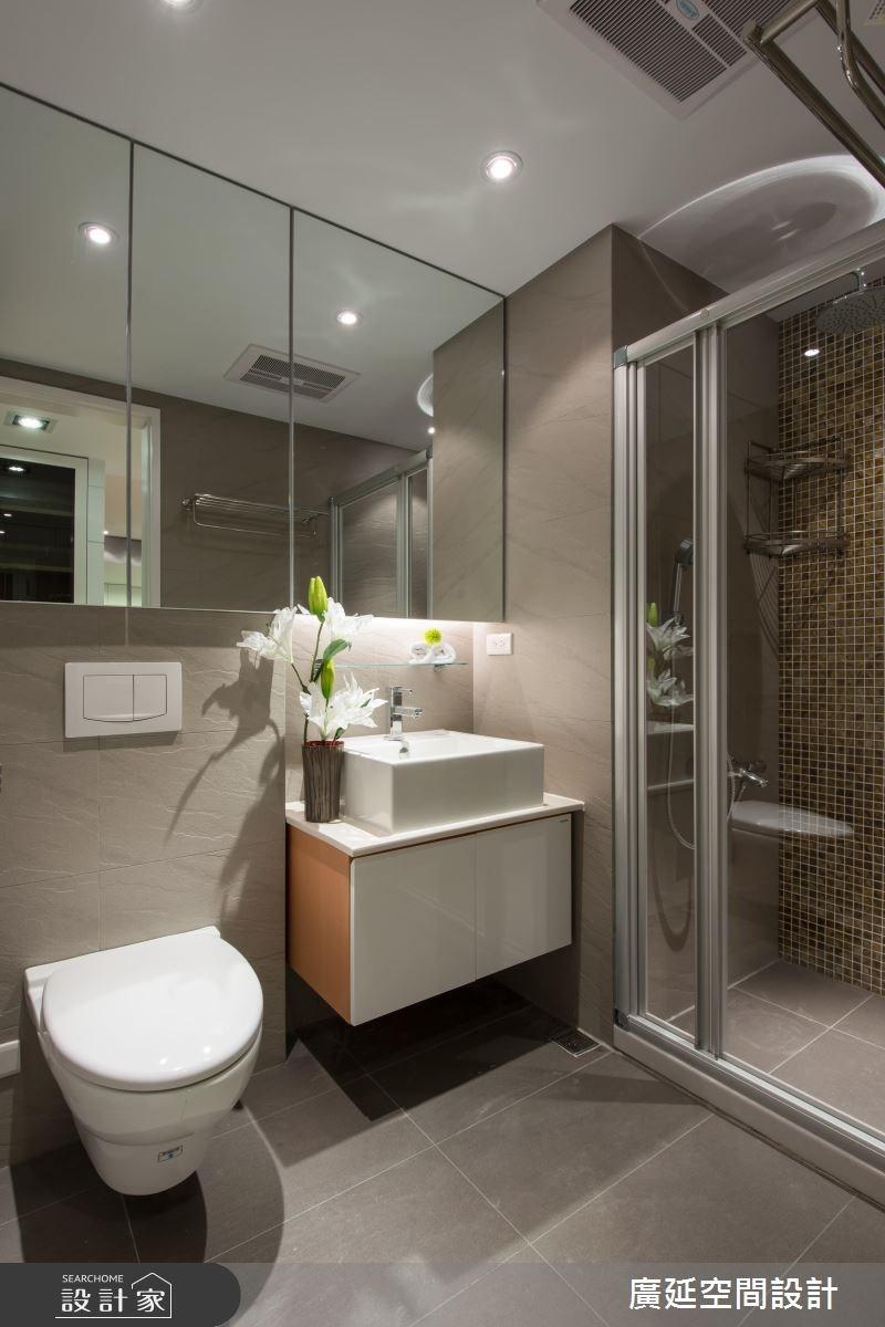 35坪老屋(16~30年)_現代風浴室案例圖片_廣延空間設計_廣延_06之20
