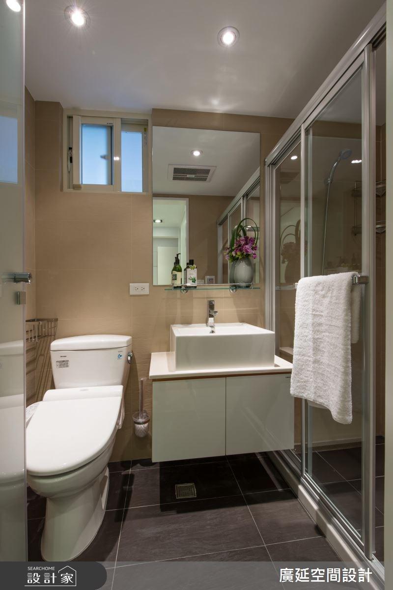 35坪老屋(16~30年)_現代風浴室案例圖片_廣延空間設計_廣延_06之21