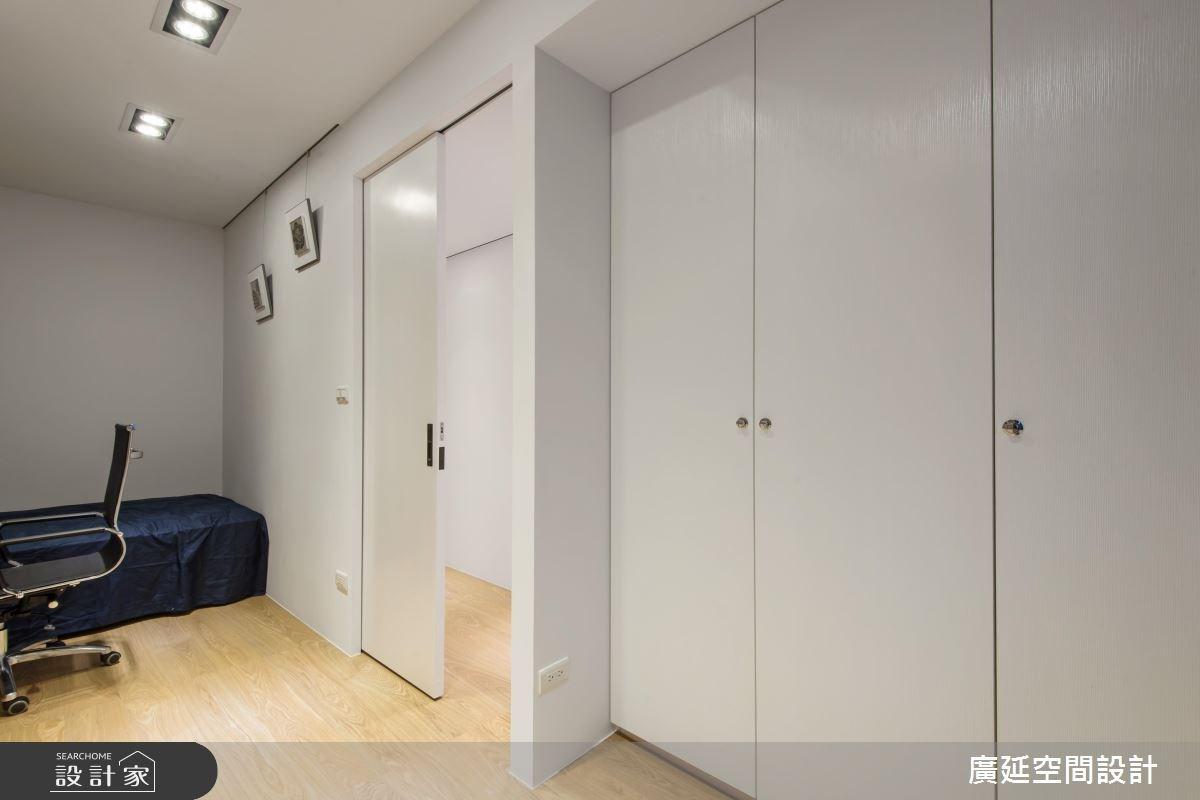 35坪老屋(16~30年)_現代風臥室案例圖片_廣延空間設計_廣延_06之34