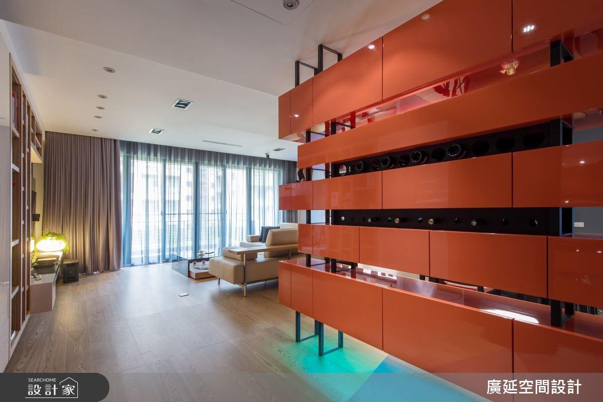 48坪新成屋(5年以下)_現代風客廳案例圖片_廣延空間設計_廣延_07之2