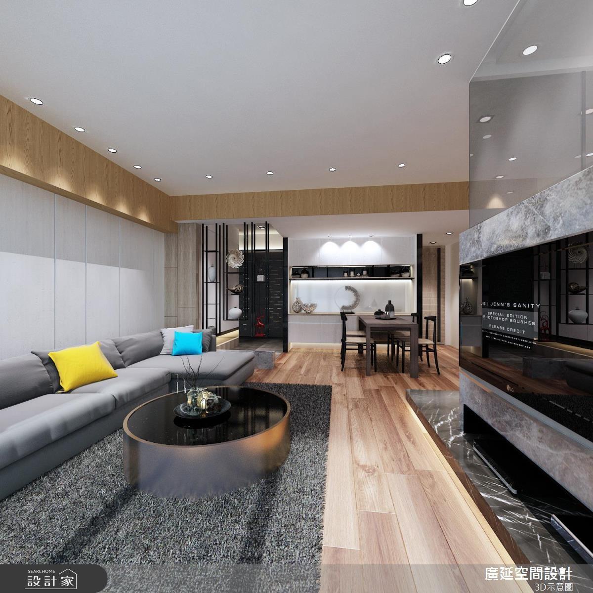 45坪新成屋(5年以下)_新古典案例圖片_廣延空間設計_廣延_08之1