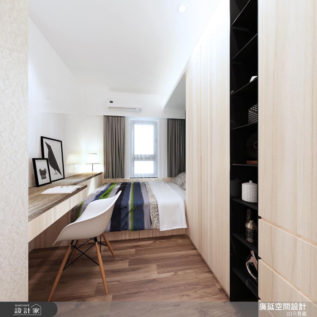 45坪新成屋(5年以下)_新古典案例圖片_廣延空間設計_廣延_08之6