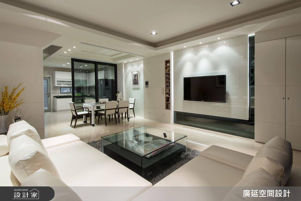 50坪新成屋(5年以下)_現代風案例圖片_廣延空間設計_廣延_11之3