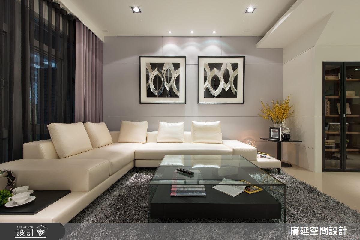 50坪新成屋(5年以下)_現代風案例圖片_廣延空間設計_廣延_11之4