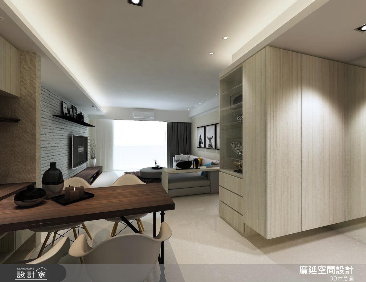42坪新成屋(5年以下)_混搭風餐廳案例圖片_廣延空間設計_廣延_14之1