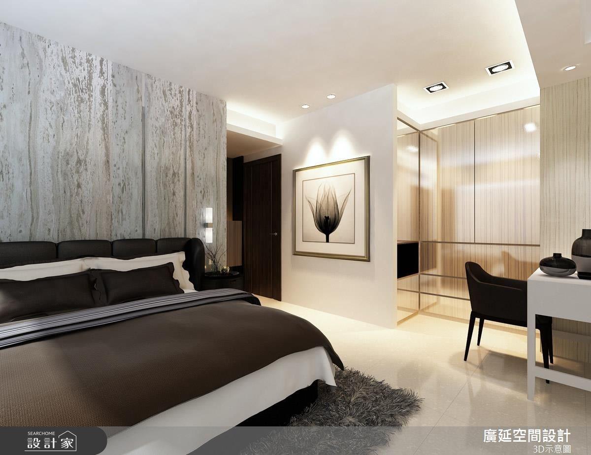 42坪新成屋(5年以下)_混搭風臥室案例圖片_廣延空間設計_廣延_14之3