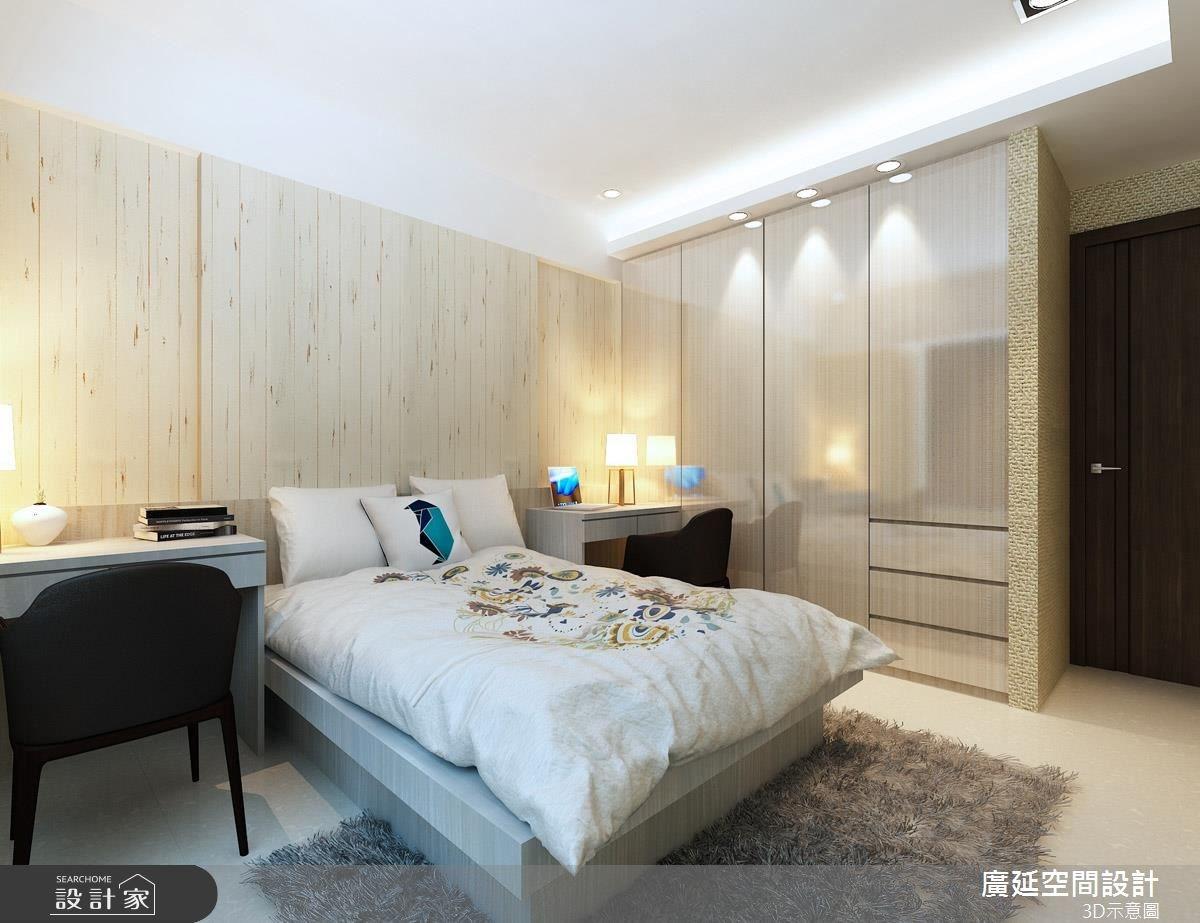 42坪新成屋(5年以下)_混搭風臥室案例圖片_廣延空間設計_廣延_14之6