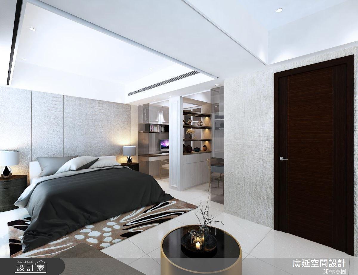 45坪新成屋(5年以下)_新古典臥室案例圖片_廣延空間設計_廣延_16之5