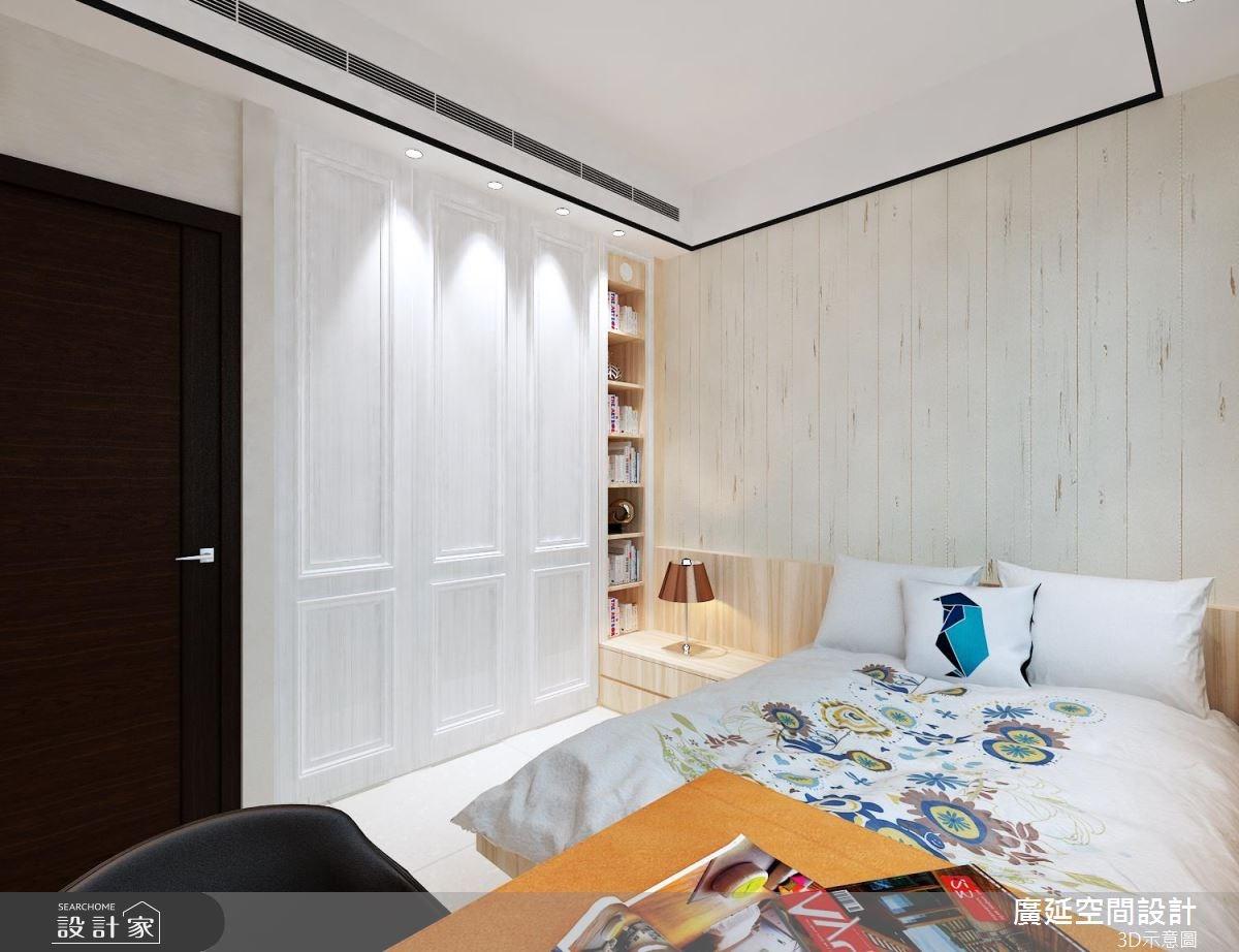 45坪新成屋(5年以下)_新古典臥室案例圖片_廣延空間設計_廣延_16之9