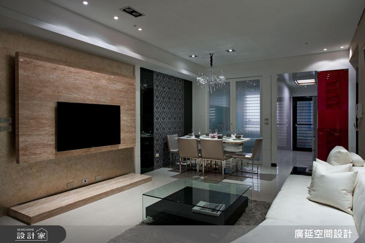 36坪新成屋(5年以下)_混搭風案例圖片_廣延空間設計_廣延_17之3