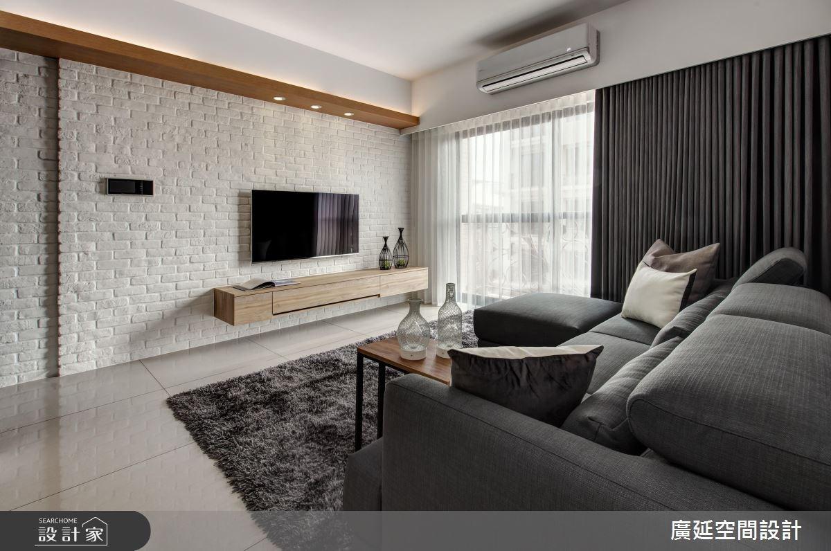 25坪新成屋(5年以下)_現代風案例圖片_廣延空間設計_廣延_18之2
